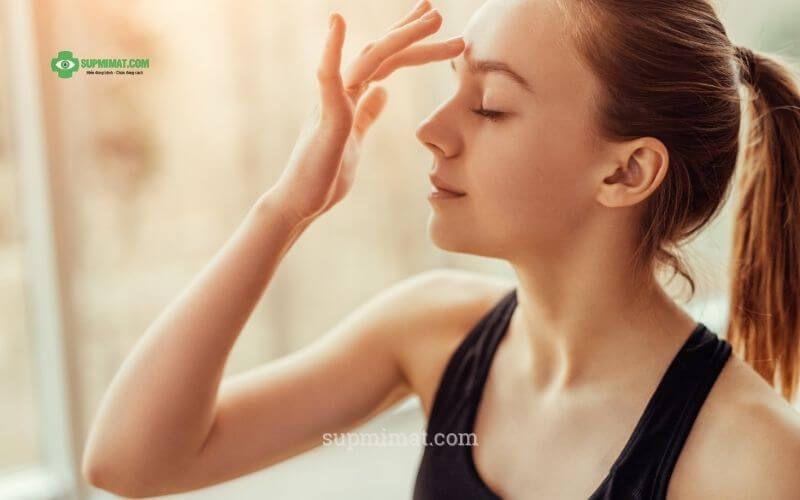 Bài tập tăng cường cơ mi mắt